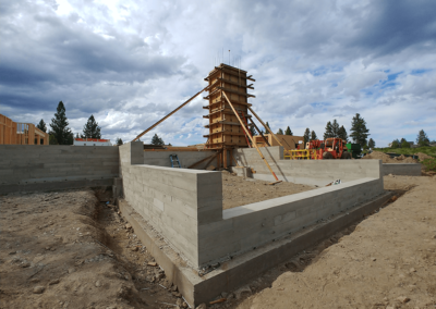 Concrete retaining walls by OR CONCRETE