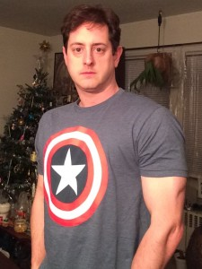 In case the Avengers ever comes calling, I've got my shirt...