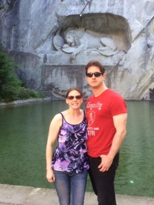 The Lion of Lucerne.