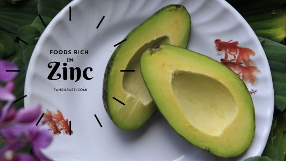 Food rich in Zinc