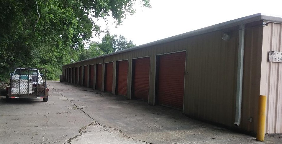 Rows of storage