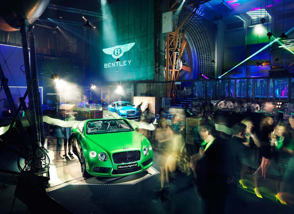 The London Kitchen - Bentley launch @ Farnborough Wind Tunnels