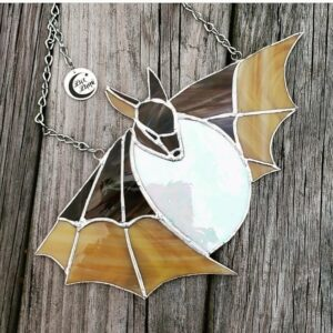 Stained Glass Bat from Lux Luna