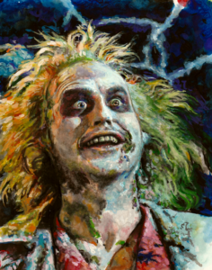 Beetlejuice Painting by James Constantine