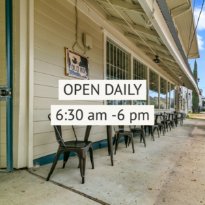 Extended Hours at Old Road Coffee NOLA