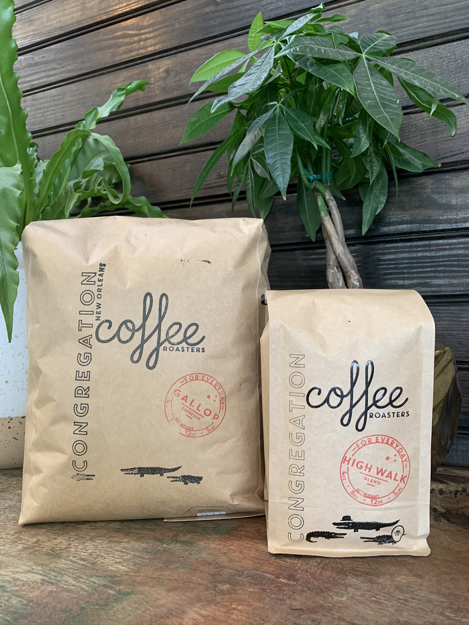 Retail Coffee from Congregation Coffee available at Old Road Coffee