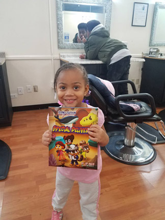EVeryone is buying Special Delivery fun exciting kids book