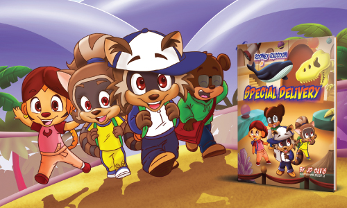 Fun Engaging Kids Book Rodney Raccoon in Special Delivery Delivery