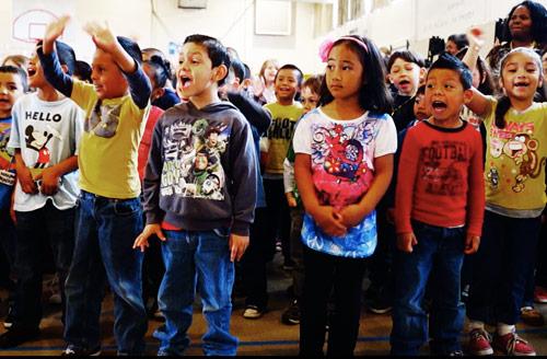 School Assembly Rodney Raccoon Show