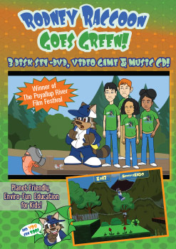 Go Green DVD 3 Disk Set Enviro-Fun