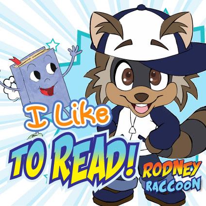 I like to Read Rodney Raccoon Blazing Kids Song!