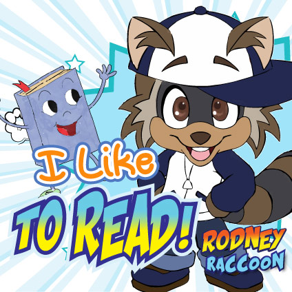 I like to Read Rodney Raccoon Blazing Kids Song!