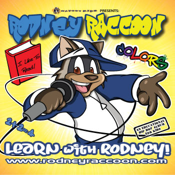 Learn with Rodney CD Learn Colors