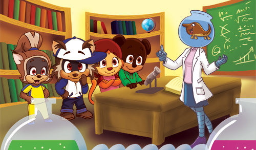 Hip-Hop Children's Cartoon