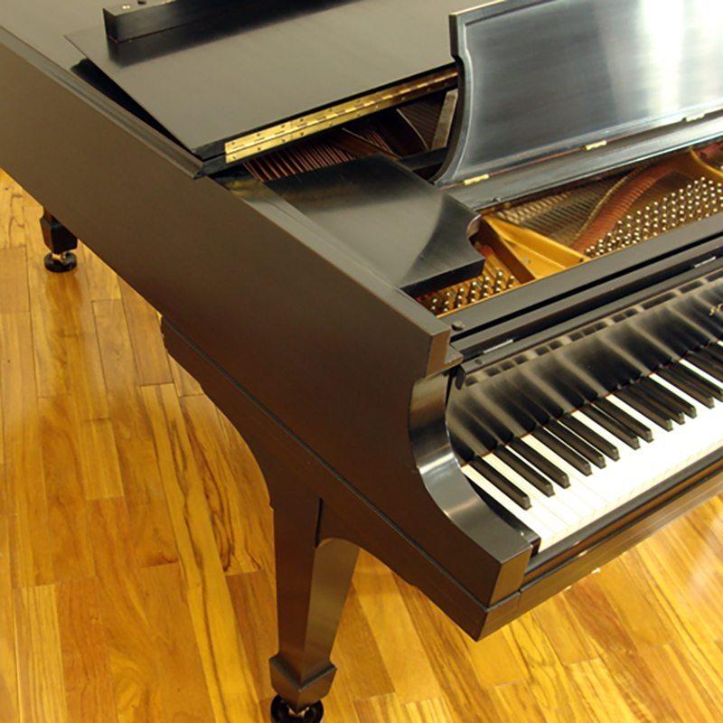 1964 Steinway model B Grand Piano in Ebony Traditional Style