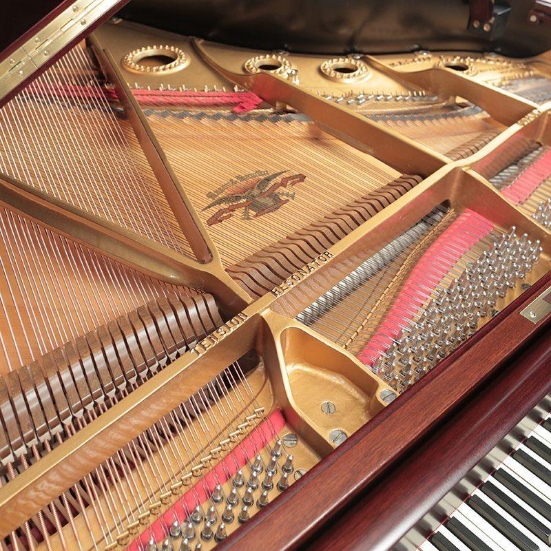 refinished mason hamlin a grand piano restored