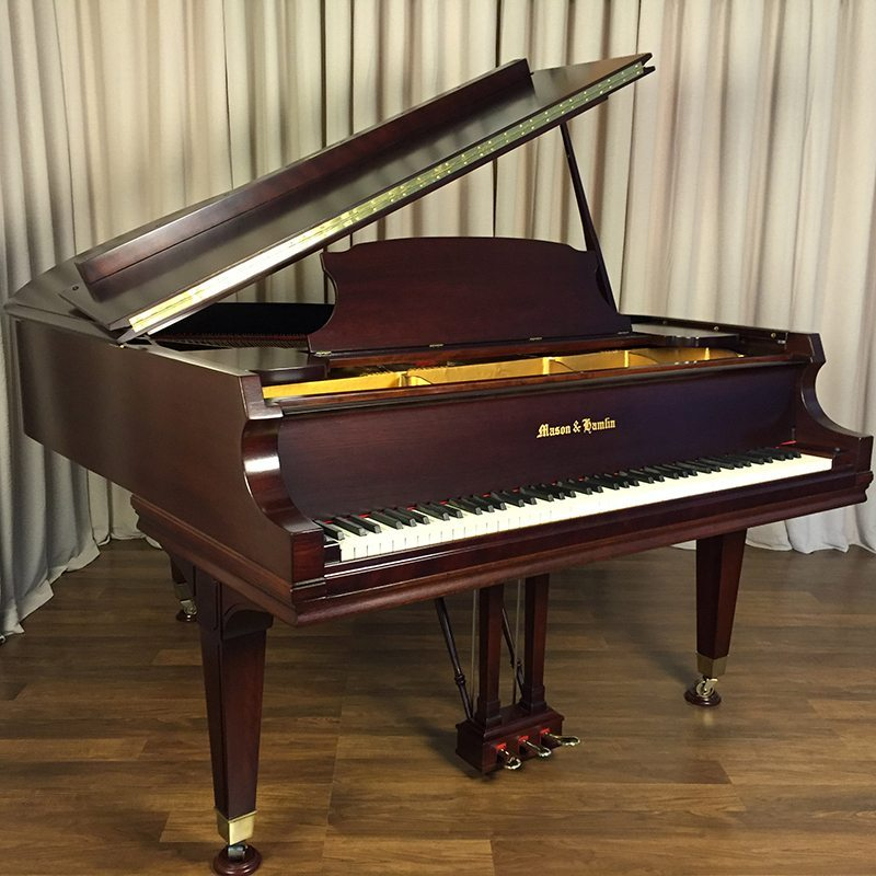 used mason hamlin a grand piano restored