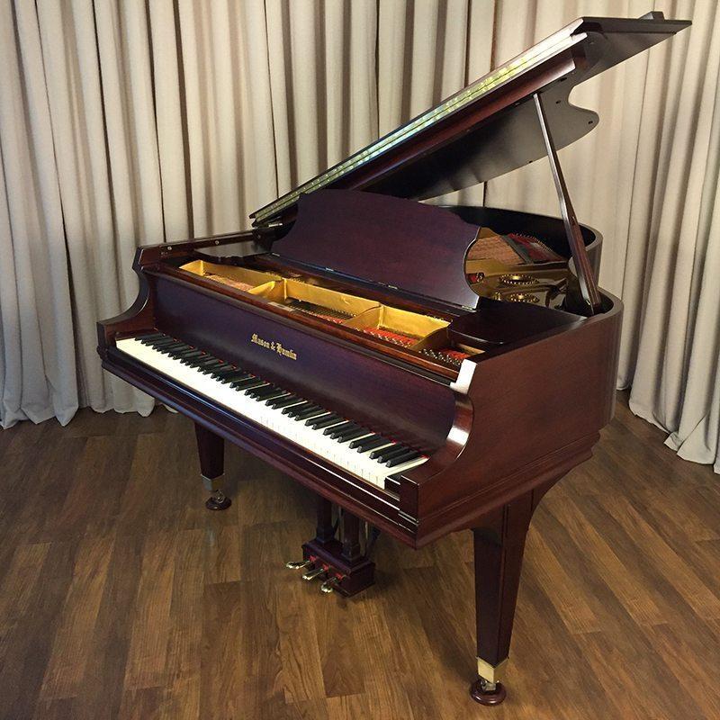 pre owned mason hamlin a grand piano mahogany