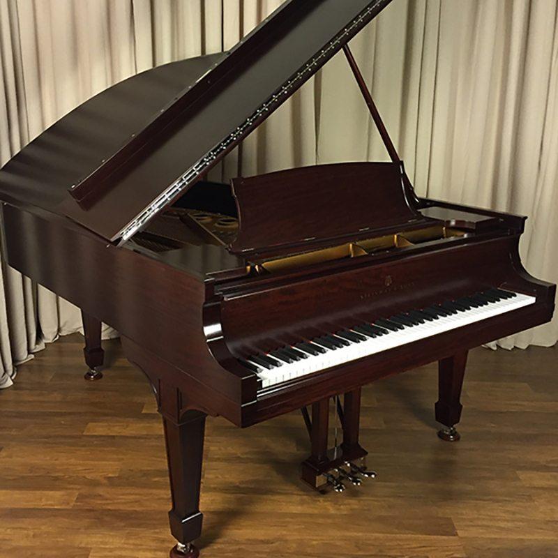restored antique steinway grand piano