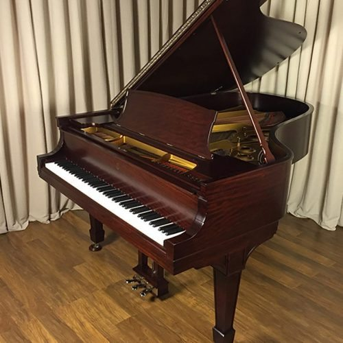 restored antique steinway grand piano
