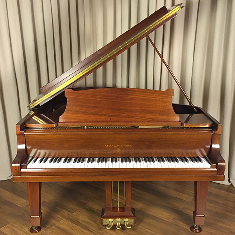 german steinway O grand piano rosewood