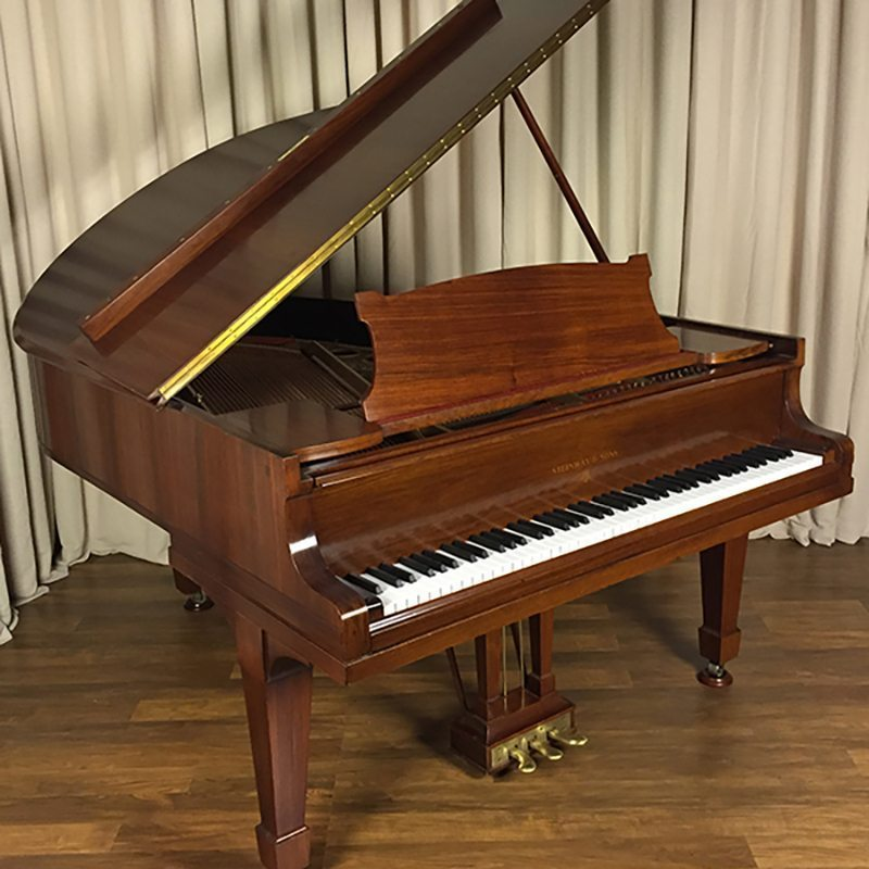 german hamburg steinway O grand piano rosewood