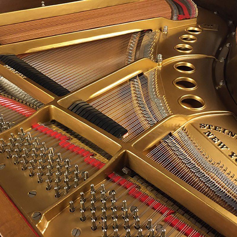 refurbished walnut steinway grand piano louis xv