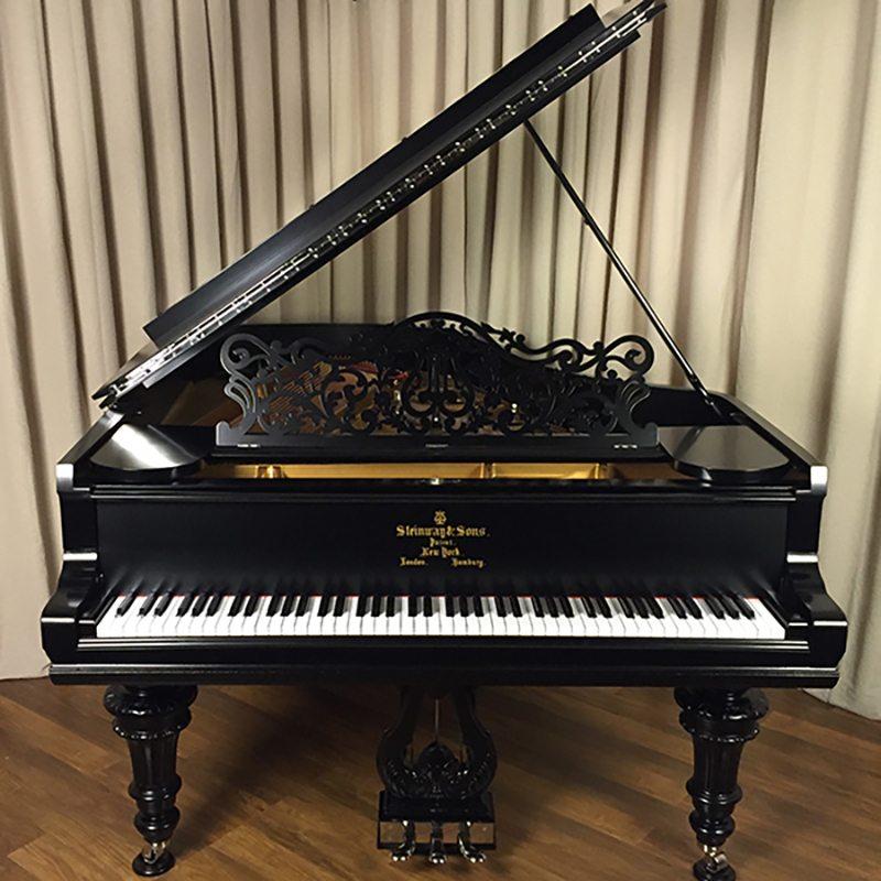 antique steinway grand piano