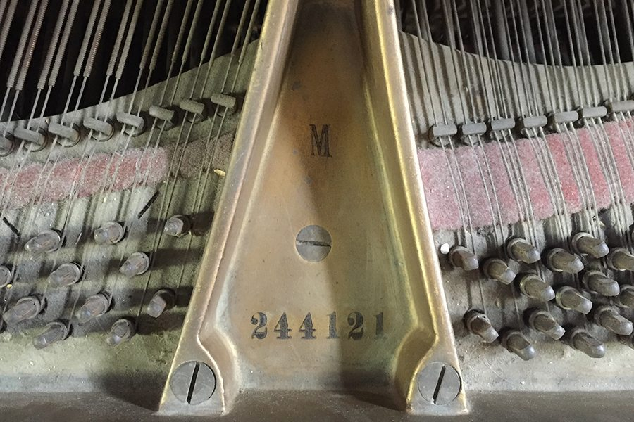 how old is my steinway piano