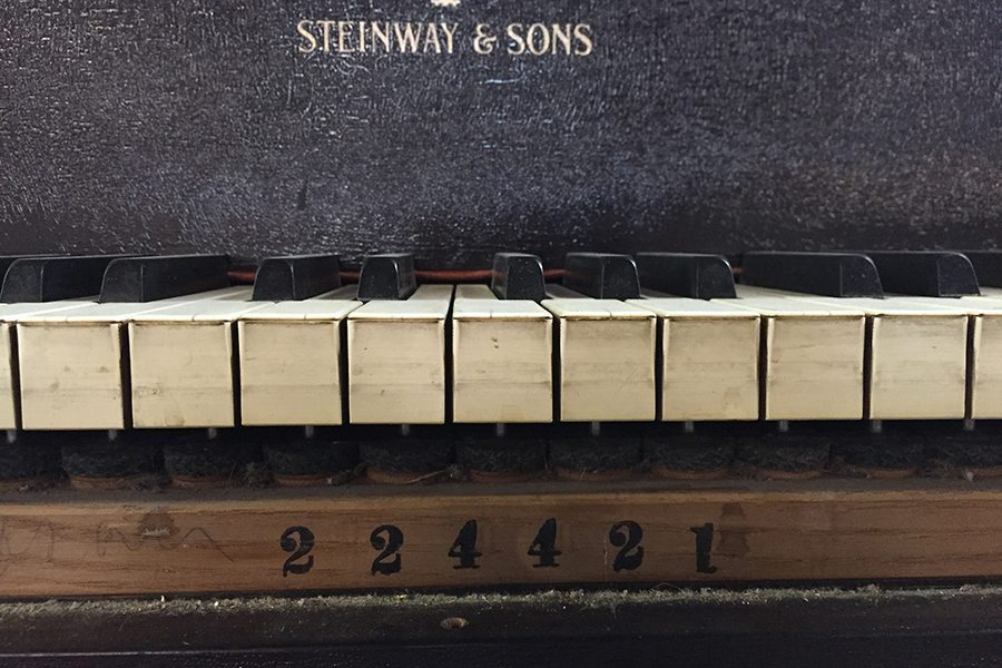 what is the age of my steinway piano
