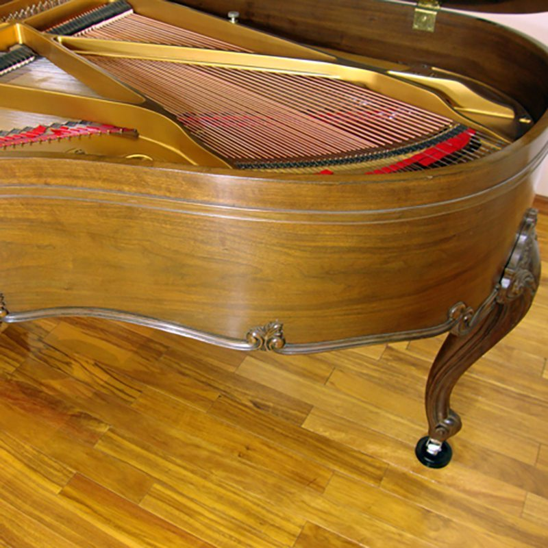 sohmer grand piano restored refinished louis xv