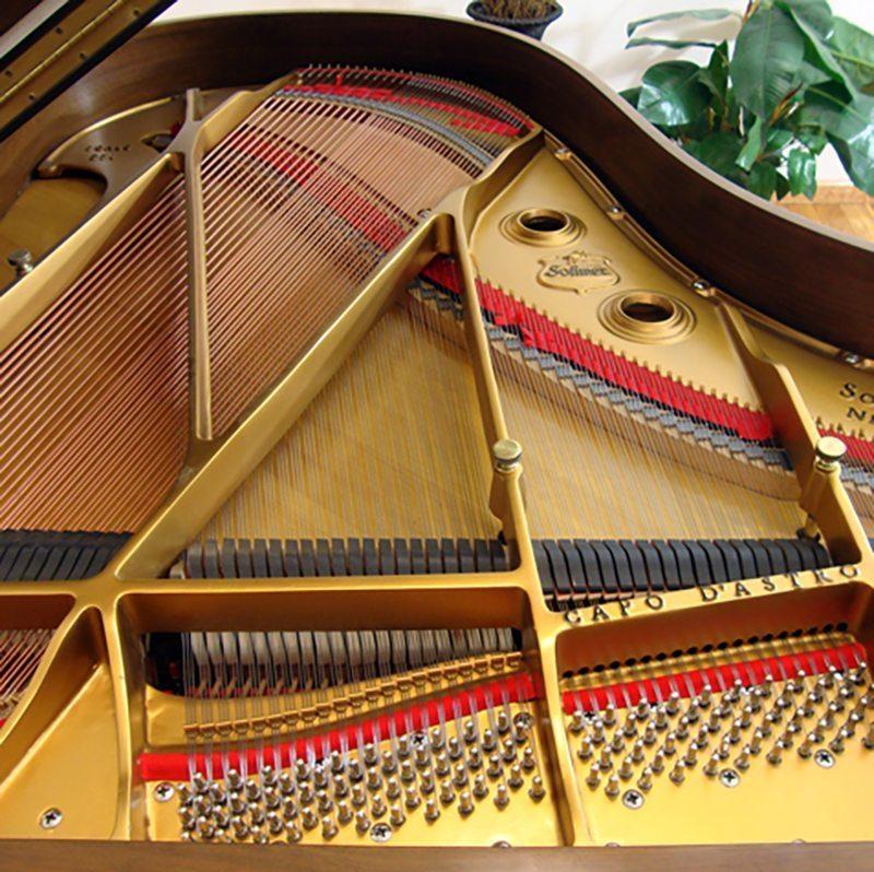 sohmer grand piano restored refinished