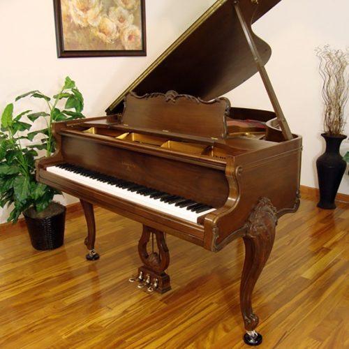 sohmer grand piano restored refinished walnut