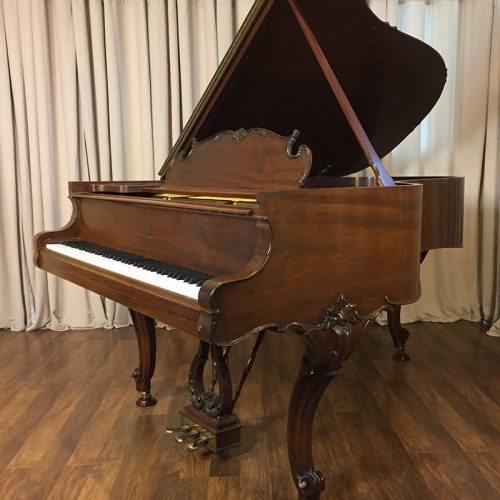 1917 Steinway model A3 Grand Piano Louis XV Style Mahogany wood