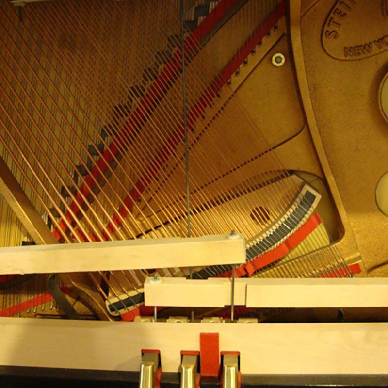 1999 Steinway 1098 Upright Piano in Ebony
