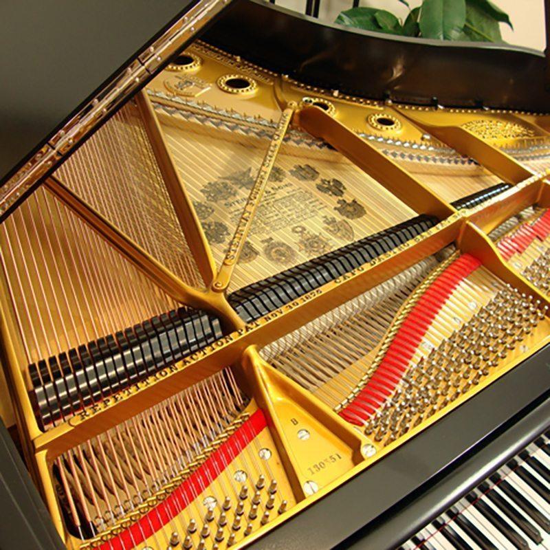 1908 Steinway B Grand Piano Ebony Victorian Style Restored