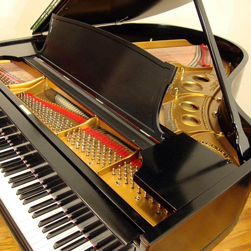 1922 Steinway O Grand Piano Ebony Traditional Style Restored