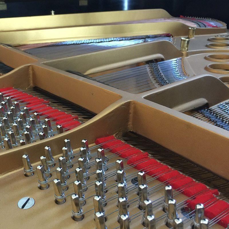restored steinway model s grand piano