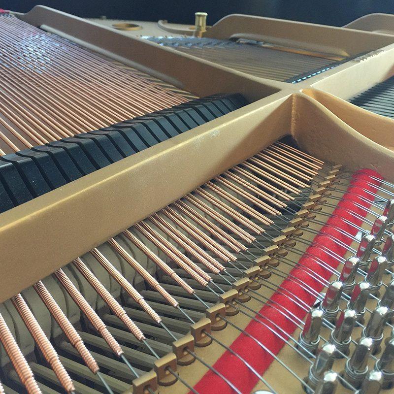 used steinway s grand piano ebony