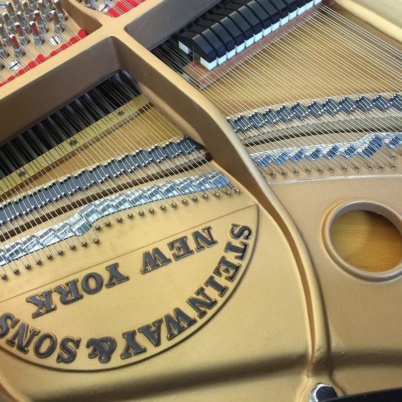 restored steinway model s baby grand piano