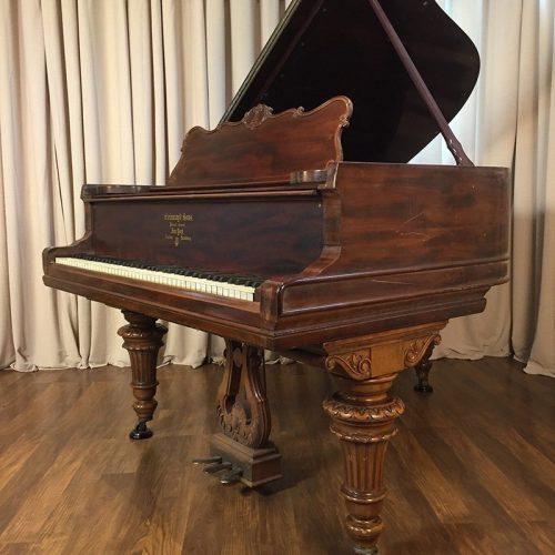 steinway model a grand piano victorian style mahogany original condition
