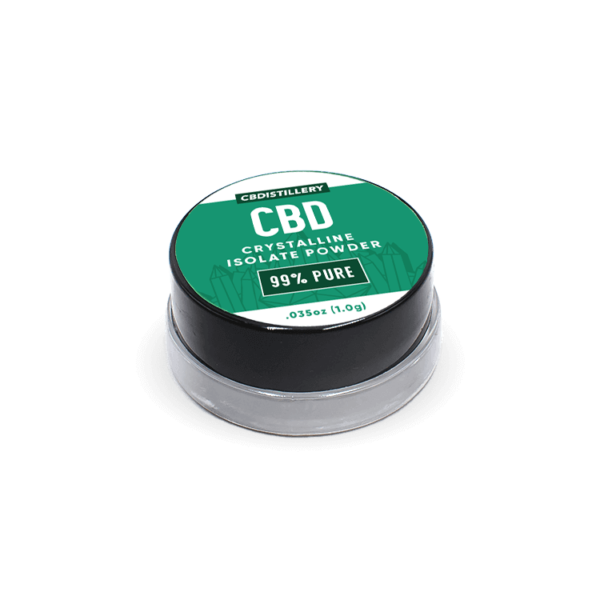 Buy 99+% Pure CBD Isolate PowderfromHemp