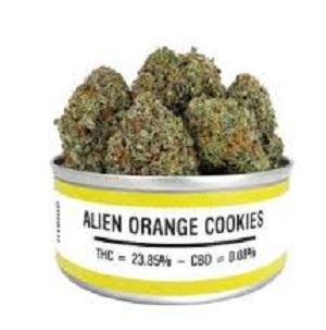 Buy ALİEN ORANGE COOKİES weed cans online