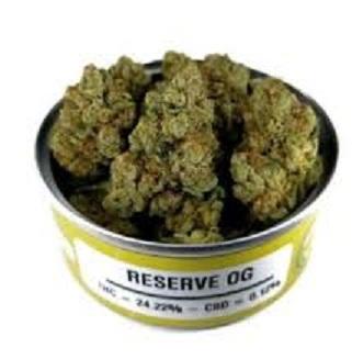 Buy RESERVE OG weed cans