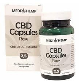 CBD Capsules Raw Hempseed Oil for sale