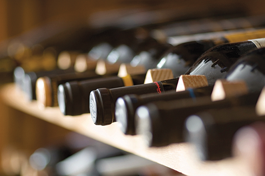Le Cache Wine Cabinets will store wine bottles in optimal aging conditions