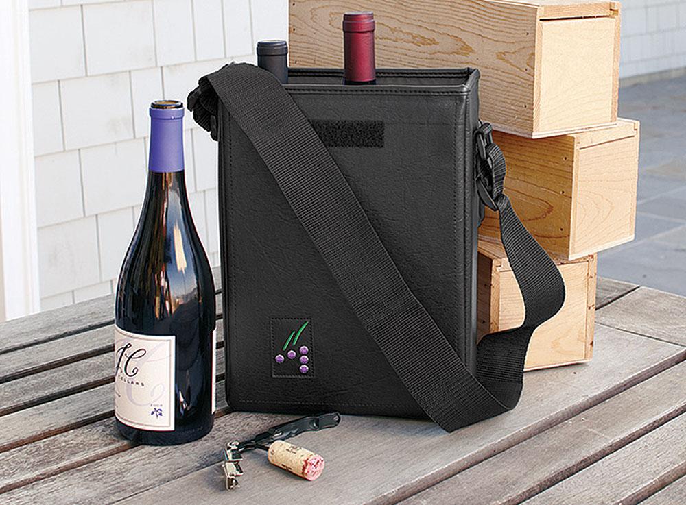 Connoisseur Wine Bag 2 Bottle