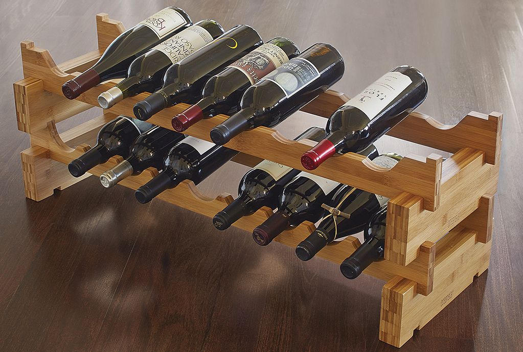 Perfect for smaller spaces or expansive walls, these scallop racks can be customized to fit any space.