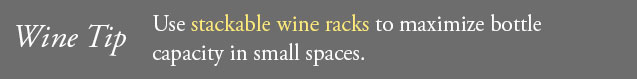 The Best Wine Storage Solutions for Small Spaces