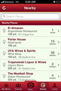 Screenshot of Vivino Wine App